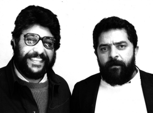 Edésio e Lula nos anos 80