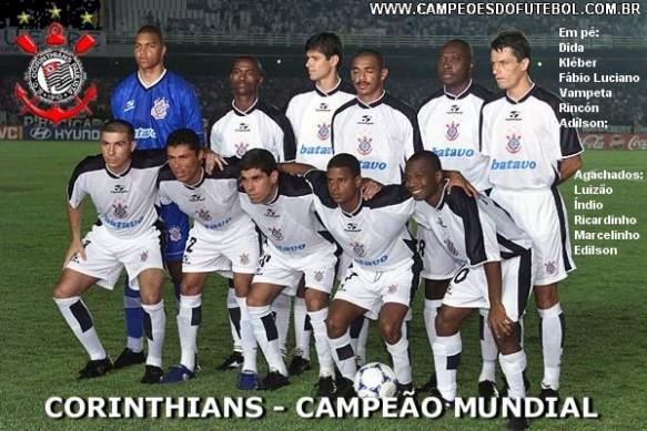 Poster Do Corinthians Bicampeão Mundial De Clubes 2000