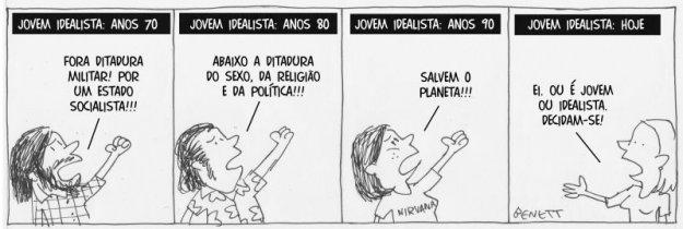 Cherge do Benett na Gazeta do Povo de sexta-feira dia 28.12.12