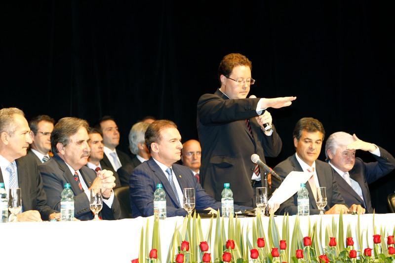 Posse do novo presidente da da OAB Paraná, Juliano José Breda, Curitiba, 15/01/2013. Foto: ANPr