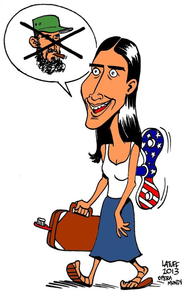 Yoani-por-Latuff