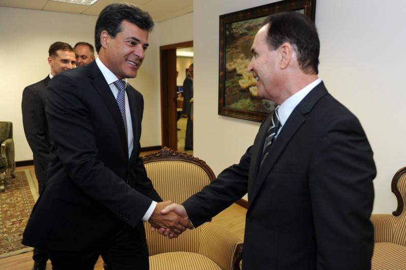 Os chefes dos Poderes Executivo e Judiciário no Paraná