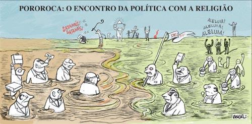 Hoje na Folha de S. Paulo