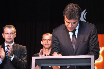 Gov. Beto Richa participa do lançamento do programa Top Talento