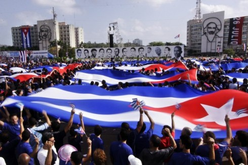 Cuba Celebrates May Day