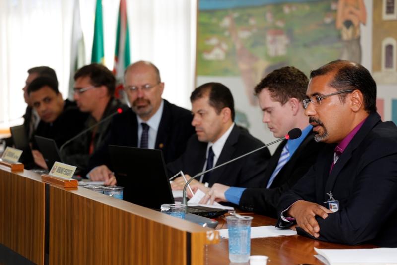 Renato José de Almeida Rodrigues, ex-presidente do ICI, foi ouvido nesta manhã. CPI do ICI pode ser criada (Foto de Anderson Tozato)