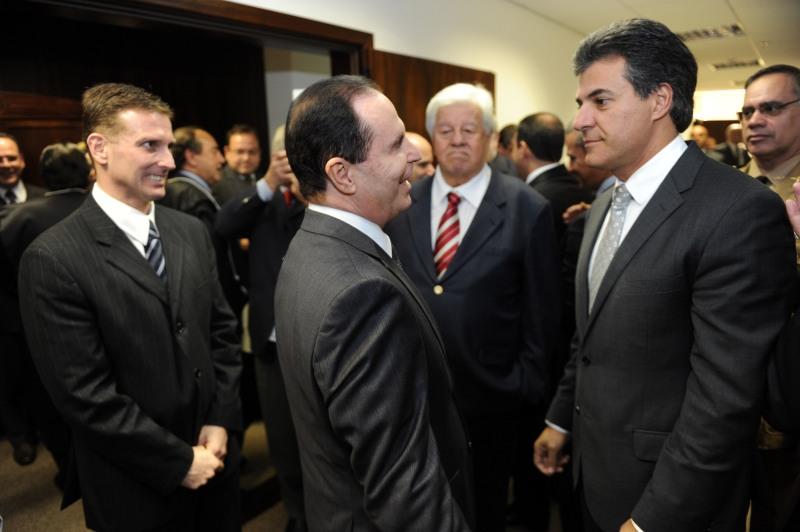 Gov. Beto Richa participa da posse de novos Desembargadores do T