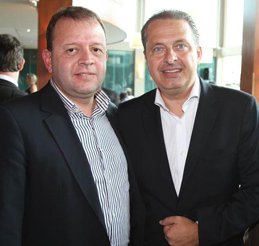 Tulio era amigo de Eduardo Campos (PSB)