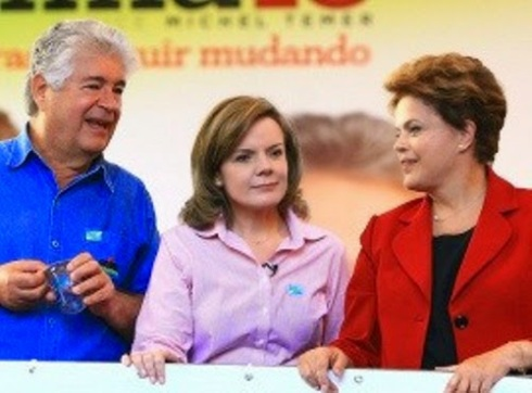 No Paraná Requião e Gleisi votam em Dilma