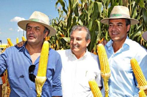 Os prováveis derrotas nas eleíções de 2014, Aécio Neves (PSDB), ainda no 1º turno, e Beto Richa (PSDB), no 2º turno, homenageam o Blog do Tarso com 4 milhões