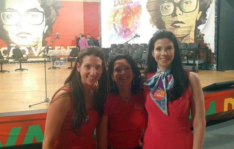 Professoras de Direito Pública Carolina, Weida e Gabriela Zancaner
