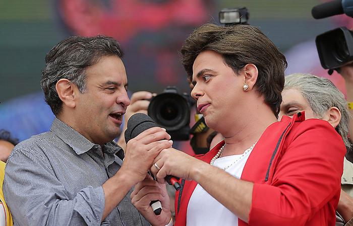 A desconhecida pesquisa parece tão verdadeira quanto essa Dilma da foto
