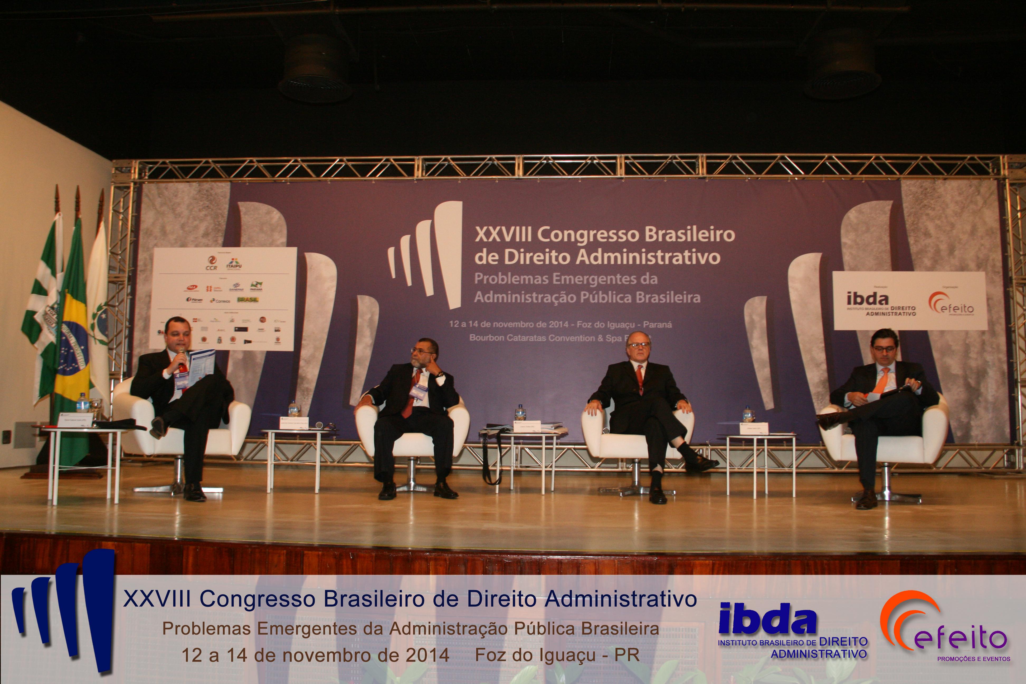 Tarso Cabral Violin (Universidade Positivo), José dos Santos Carvalho Filho (RJ), Juarez Freitas (UFRGS) e Daniel Valim (PUC-SP)