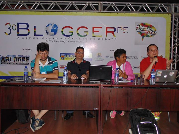 Eduardo Guimarães (Blog da Cidadania) e Tarso Cabral Violin (ParanáBlogs e Blog do Tarso) no 3BloggerPE
