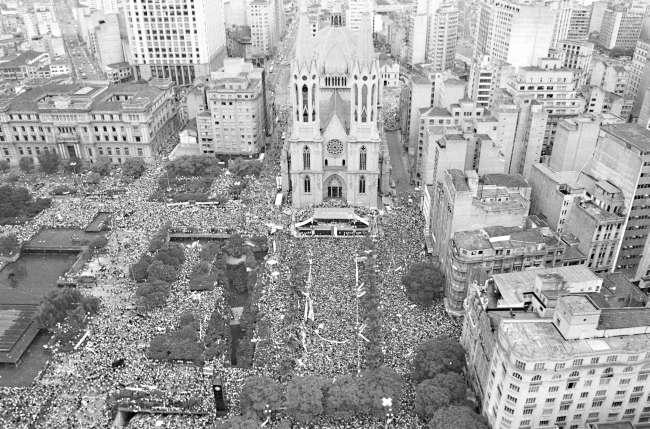 Diretas Já em São Paulo, em 1984