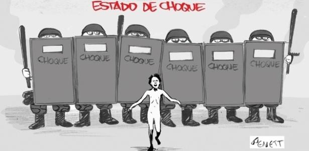 21jun2013---o-cartunista-bennet-publicou-uma-serie-de-charges-inspiradas-nos-protestos-que-acontecem-por-todo-o-pais-1371827775882_615x300