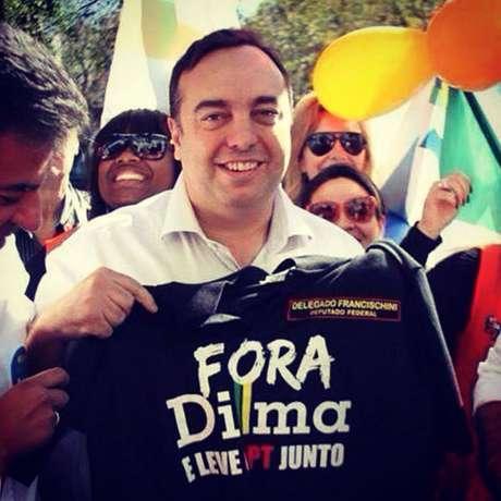 Beto Richa culpou o ex-secretário Fernando Franscischini, atual deputado federal (Solidariedade), pelo Massacre de Curitiba