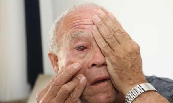 Idoso já não enxergava de um olho e agora perdeu a visão do outro