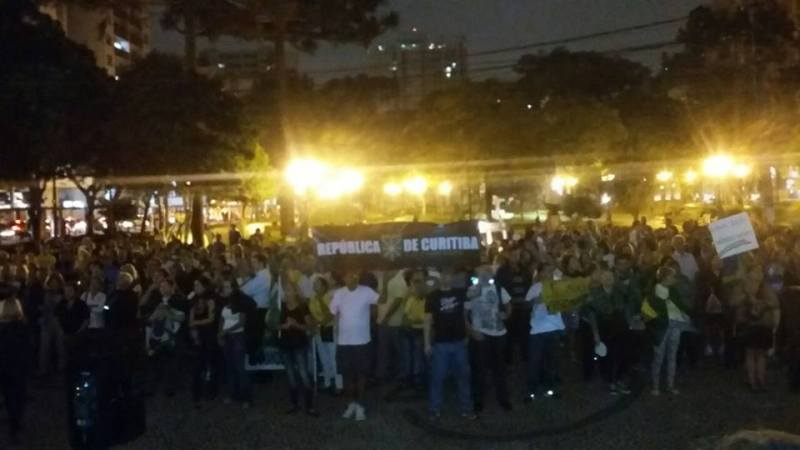 Evento pelo Impeachment